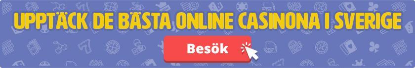 Upptäck de bästa online casinona i Sverige